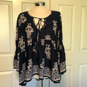Altar'd State long sleeve top with tassels